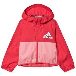 adidas Performance Logo Windbreakers Core Pink/Glory Pink 5-6 years (116 cm)