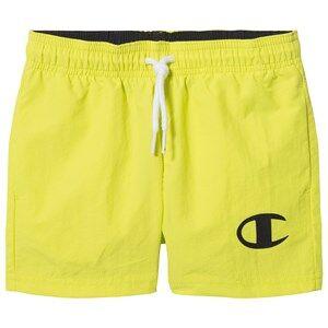 Champion Logo Swim Trunks Yellow 9-10 years