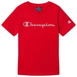 Champion Logo Tee Red 11-12 years