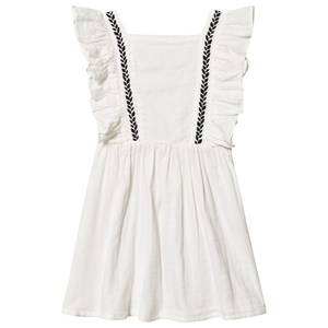 Image of bho Graze Embroidered Dress White 6 Years