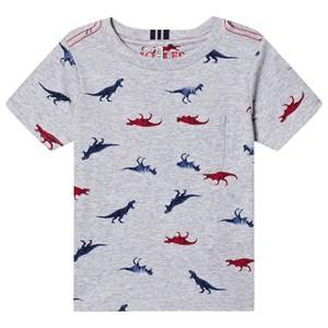 Tom Joule Olly Dino T-Shirt Grey 3 years
