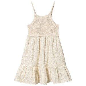 bho Iris Knit Dress Ecru 10 Years