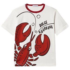 Dolce & Gabbana Summer Smile Tee White 6 years