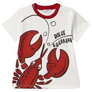 Dolce & Gabbana Summer Smile Baby Tee White 12-18 months