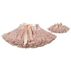DOLLY by Le Petit Tom Dorothy In The Land Of Dolls Pettiskirt Ballet Pink Medium (6-8 Years)