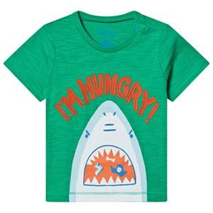 Hatley Hungry Shark Baby Tee Green 12-18 months