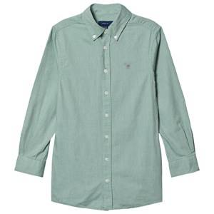 GANT Sage Small Shield Oxford Shirt Green 158-164cm (13-14 years)