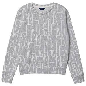 GANT Small Shield Logo Sweatshirt Gray 158-164cm (13-14 years)