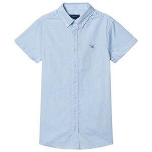 GANT Short Sleeve Oxford Shirt Blue 158-164cm (13-14 years)