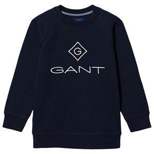 GANT Diamond Logo Sweatshirt Navy 134-140cm (9-10 years)