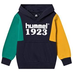 Image of Hummel Presley Hoodie Blue Nights 116 cm (5-6 Years)
