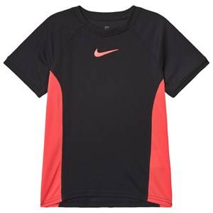 Image of NIKE Dri-Fit Tennis T-Shirt Black S (8-10 years)