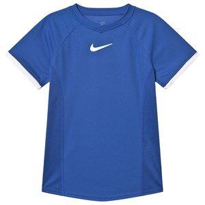 Image of NIKE Dri-Fit Tennis T-Shirt Blue S (8-10 years)