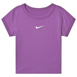 Image of NIKE Dri-Fit Tennis T-Shirt Purple XL (13-15 years)