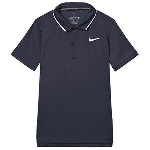 Image of NIKE Dri-Fit Tennis Polo Shirt Navy XL (13-15 years)