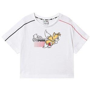 Puma Puma x Sonic The Hedgehog T-Shirt White 3-4 years