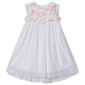 Image of Billieblush Flower Detail Dress White 4 years