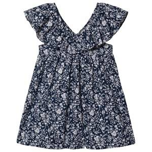 Olivier London Bea Dress Summer Blooms Navy 3-4 Years