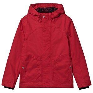 Hunter Original Jacket Military Red Raincoats