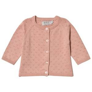 Image of Wheat Maja Cardigan Misty Rose 116 cm (5-6 Years)