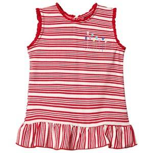 Image of Andy & Evan Tank Top Stripe Ribbed Ruffle Hem 2 years