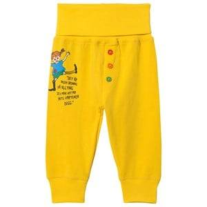 Pippi Lngstrump Pippi Lngstrump Quote Pants Yellow 56 cm (1-2 Months)
