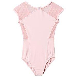 Image of Mirella Cap Sleeve Leotard Pink 2-4 years