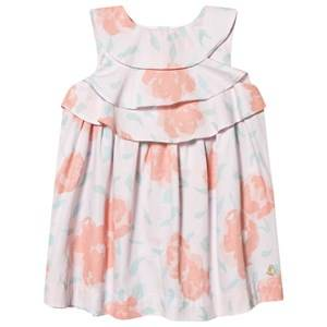 Image of Petit Bateau Floral Baby Dress Vienne Pink/Multico White 24 months