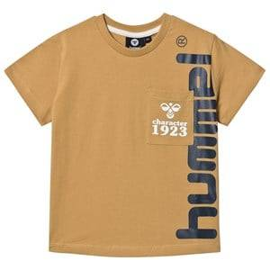 Image of Hummel Torben T-Shirt Prairie Sand 122 cm (6-7 Years)