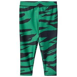 Mini Rodini Tiger Rash Leggings Green 140/146 cm