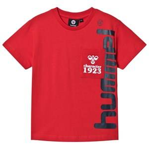 Image of Hummel Torben T-Shirt Risk Red 128 cm (7-8 Years)