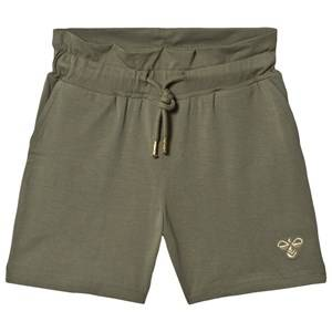 Image of Hummel Arlinda Shorts Deep Lichen Green 116 cm (5-6 Years)