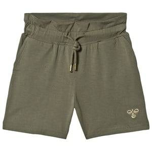 Image of Hummel Arlinda Shorts Deep Lichen Green 128 cm (7-8 Years)