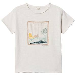 Image of Play Up Flam Jersey Top White 4 Years