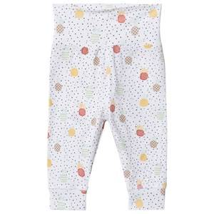 Image of Hust&Claire; Luca Leggings White 56 cm (1-2 Months)
