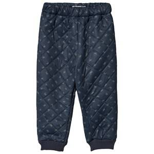 Image of Wheat Alex Thermo Pants Ink Crab 122 cm (6-7 Years)