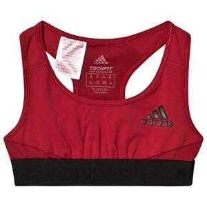 adidas Performance Logo Sport Bralet Red 11-12 years (152 cm)