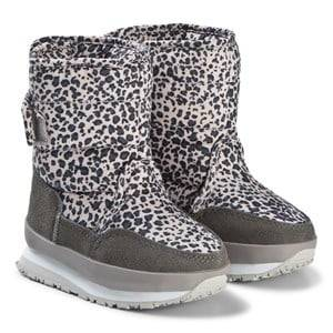 Rubber Duck Print Grey Leo Boots Snow boots