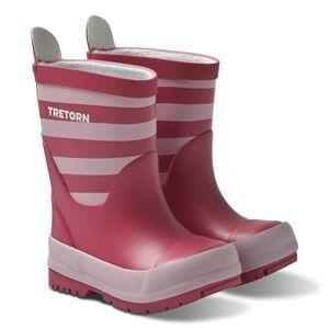 Tretorn Grnna Rain Boots Raspberry Wellingtons