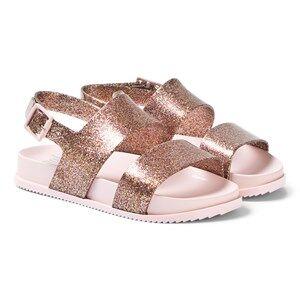 Mini Melissa Pink Glitter Cosmic Sandals Lasten kengt 34 (UK 2)