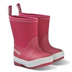 Tretorn Kuling Neoprene Rain Boots Raspberry Wellingtons