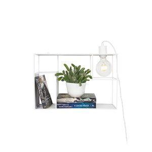 Globen Lighting Shelfie Wall/Table Lamp White