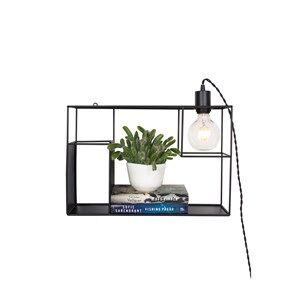 Globen Lighting Shelfie Wall/Table Lamp Black