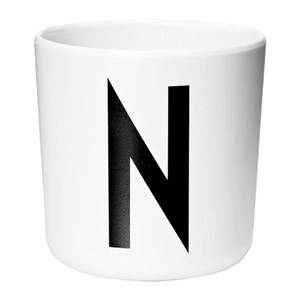 Design Letters Melamine Cup N Cups