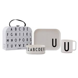 Design Letters Tritan Tableware Set - U Table sets