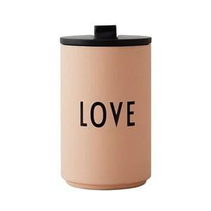 Design Letters Love Thermo Cup Pink