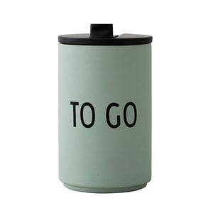Design Letters To Go Thermo Cup Green