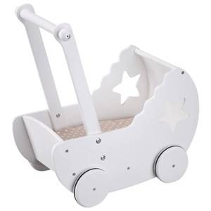 Kids Concept Star Doll Stroller White