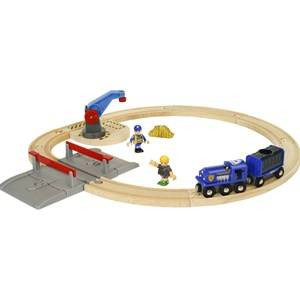 BRIO World - 33812 Police Transport Set