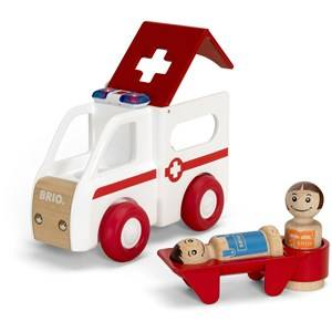 BRIO My Home Town  30381 Light and Sound Ambulance